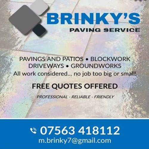 Brinky's Paving Services