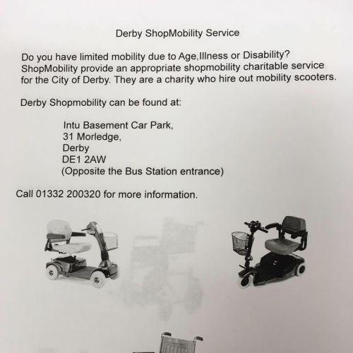 Derby Shopmobility
