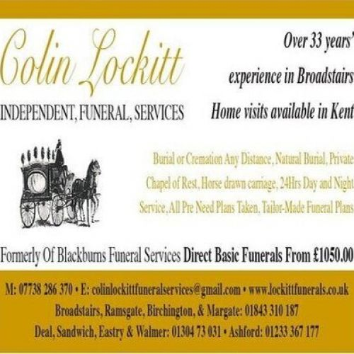 Colin Lockitt Independent Funeral Services